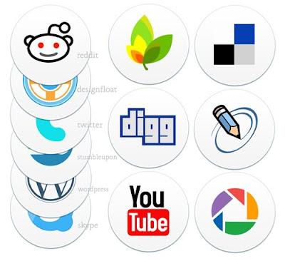 Descargar iconos sociales