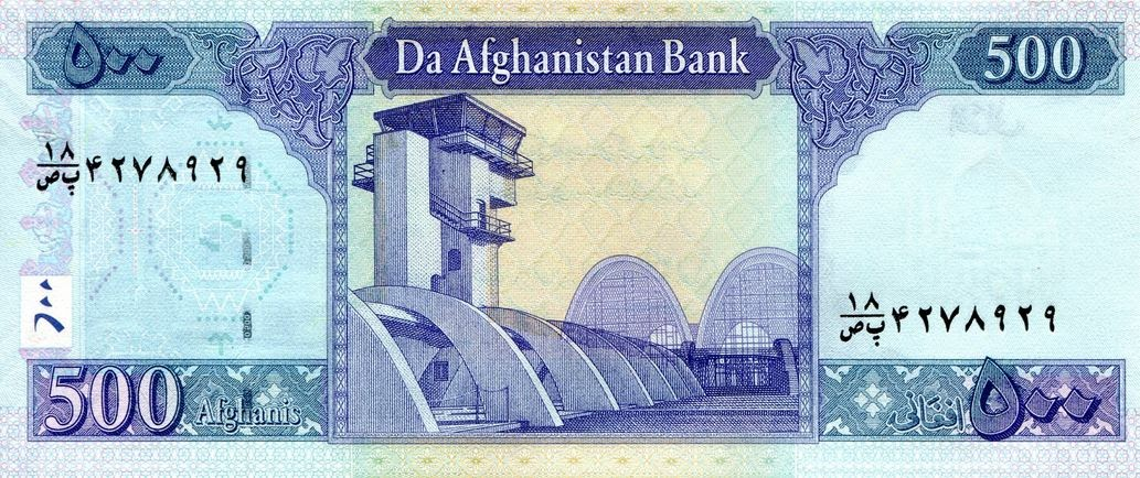 The Afghanistan story is a tragic one and I don't have much to add to it apart from my ability to read central bank financial statements and balance s