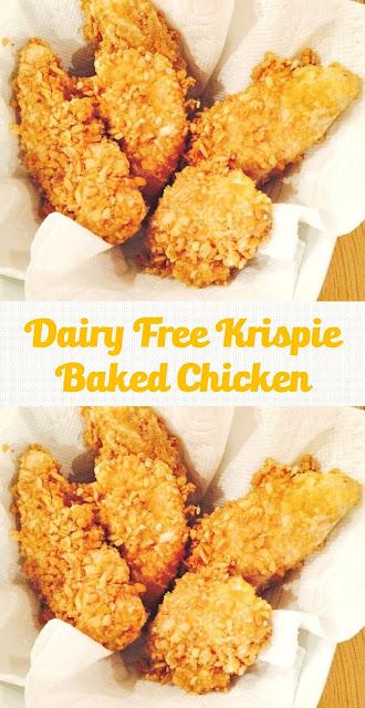Dairy Free Krispie Baked Chicken