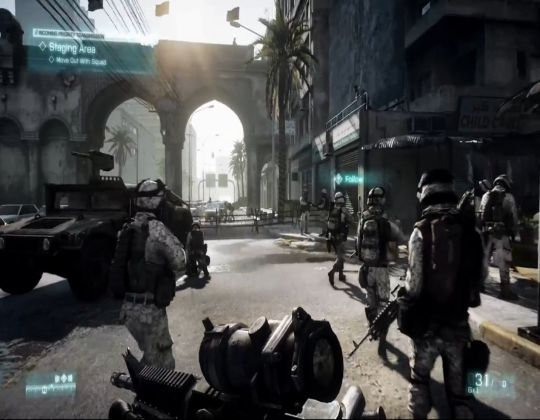 Battlefield 3 Game free Download For Windows 7