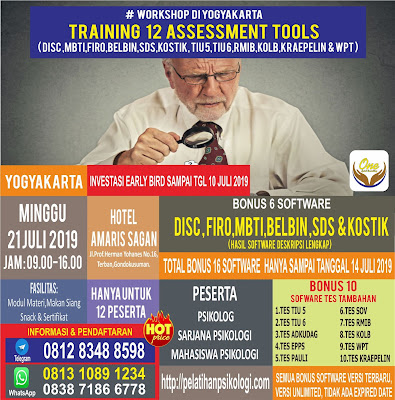 Seminar Psikologi Di Jogja   Pelatihan Psikologi Yogyakarta   WA: 0838-7186-6778