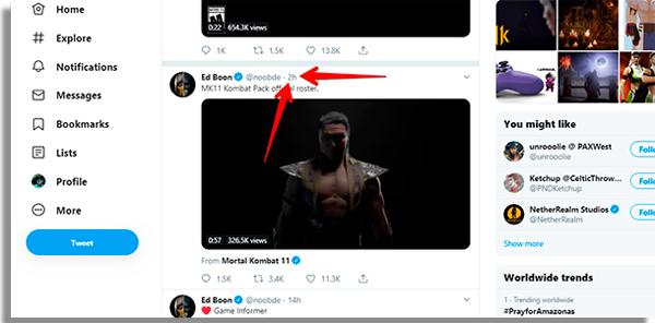 Como baixar vídeos do Twitter no PC