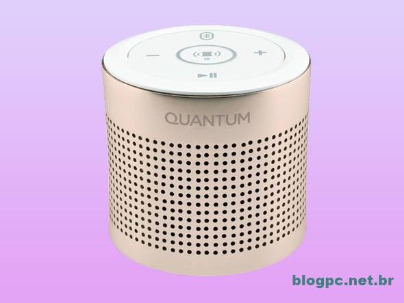 Caixa de som Quantum Boom usa sua mesa como amplificador