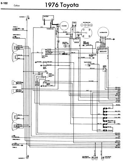 6 Ohm Subwoofer Wiring Diagrams 02 International 4300 Diagram Voltase Hobby: Toyota Celica A20 1976
