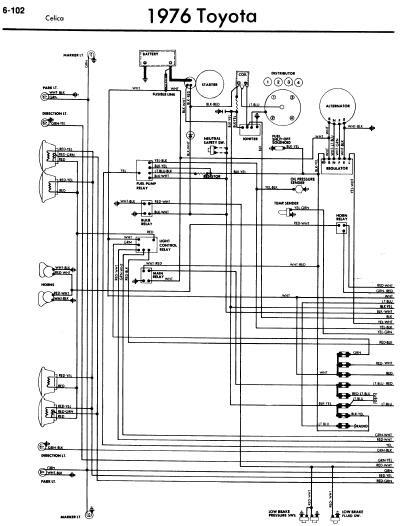 Voltase hobby: Toyota Celica A20 1976 Wiring Diagrams
