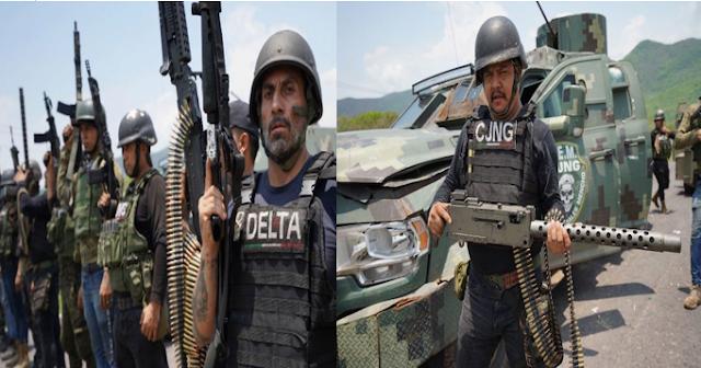 Fotos: En Imágenes con este armamento así demuestra El CJNG su verdadero poderío en Michoacán