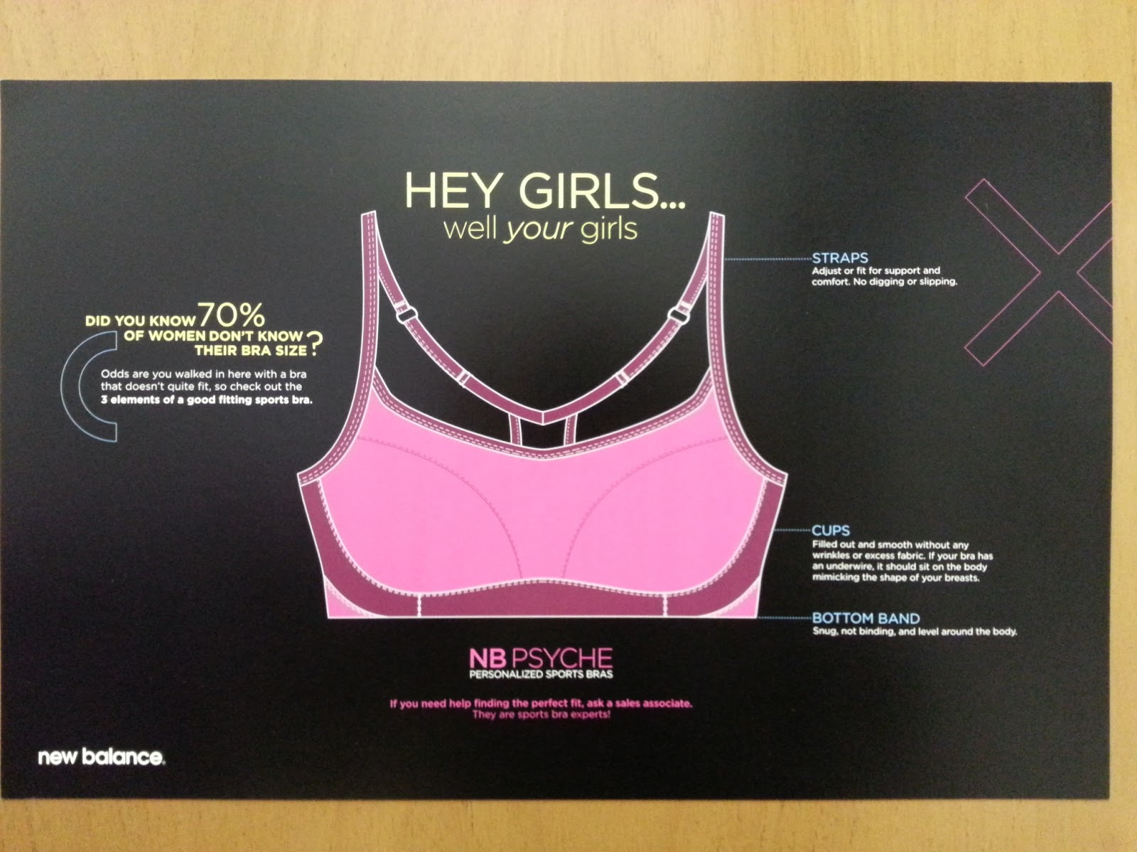 7a5cf4cb56 Product Launch  New Balance Psyche Sports Bras