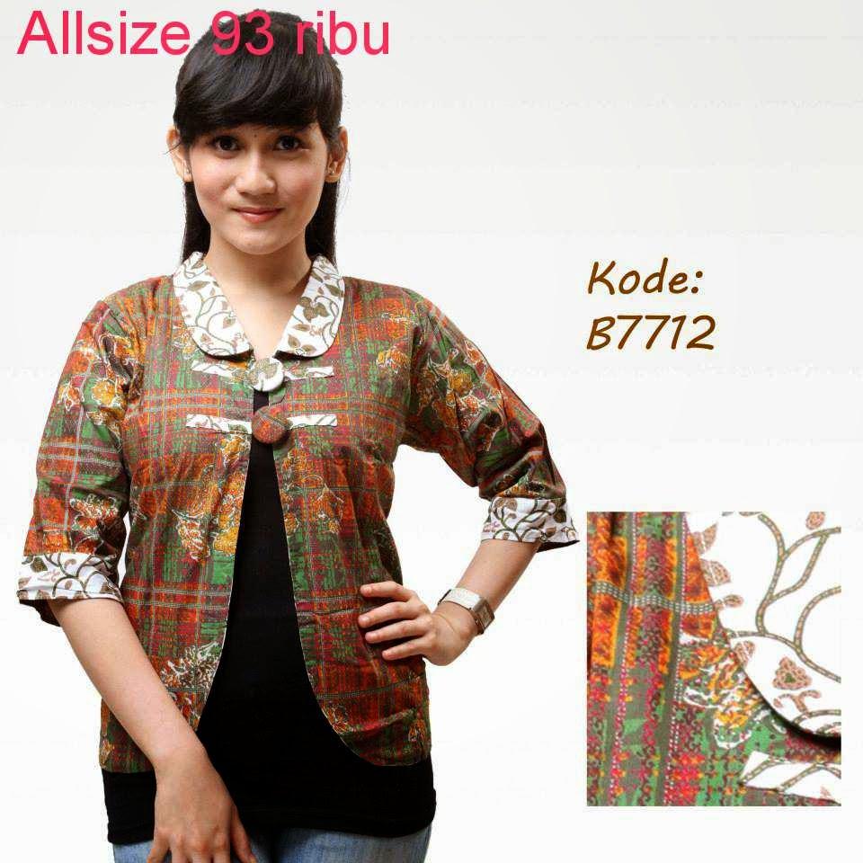 Model Baju Batik Zaskia Mecca: Macam Macam Model Baju Batik