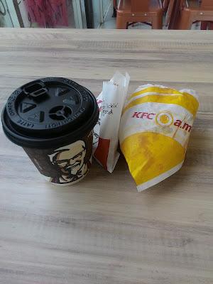 kfc breakfast