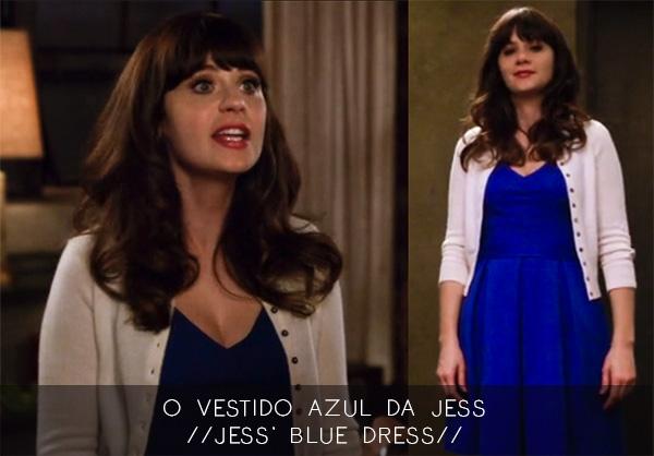 ROUPAS DA TV || O Vestido Azul da Jess