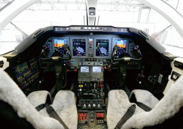 Nextant 400XTi cockpit