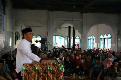 Parosil Mabsus Hadiri Peringatan Maulid Nabi Muhammad SAW di Mesjid Al-Hidayah