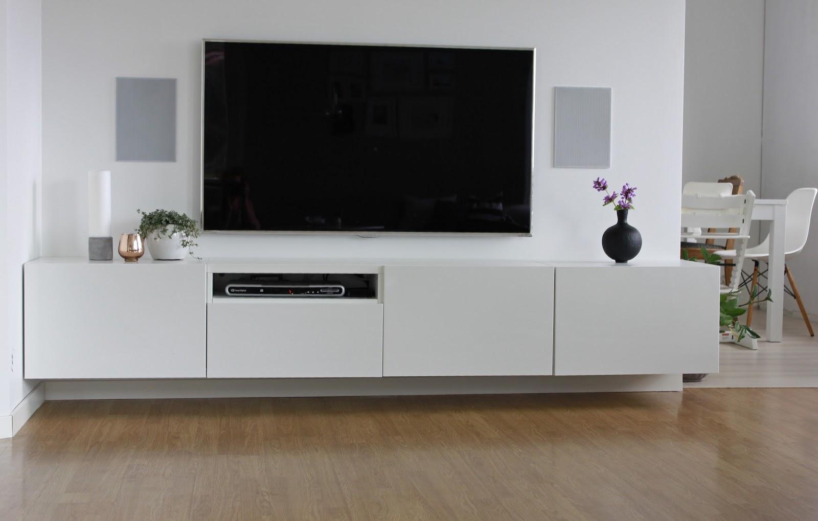 Enormt Hagenhuset: Ny tv-vegg TI-25