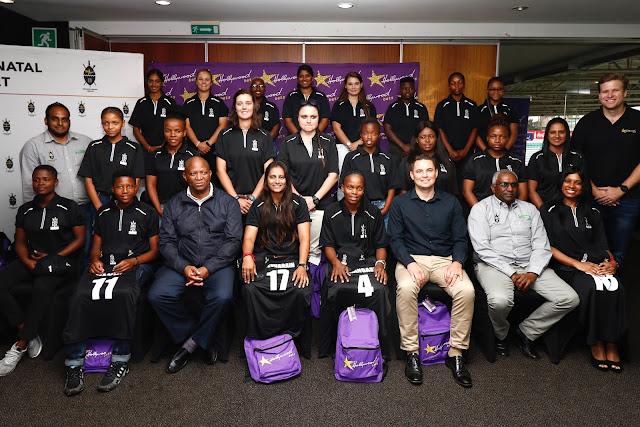 Hollywoodbets KZN Coastal Women's Cricket Team pose for photo