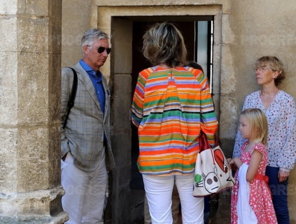 Belgian Royal Family Visit The Royal Monastery Of Brou
