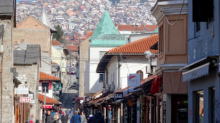 Sarajevo as the political, financial, social and cultural center