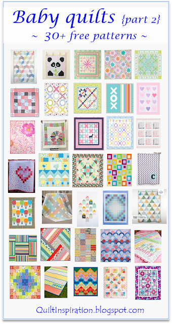 Quilt Inspiration Free Pattern Day Baby Quilts Part 2
