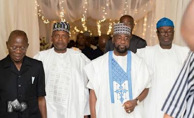 Photos from the wedding dinner of Fatima Dangote and Jamil Abubakar in Abuja