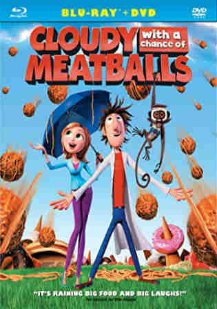 Cloudy With A Chance Of Meatballs 2009 BRRip 280MB Hindi Dual Audio 480p Watch Online Full Movie Download bolly4u