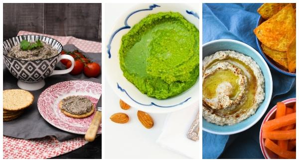 Vegan dips, pate & spreads