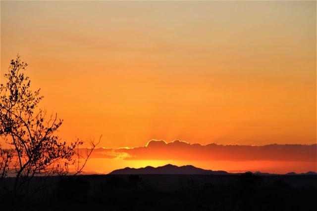 Atardecer en el Parque Kruger, Sudáfrica