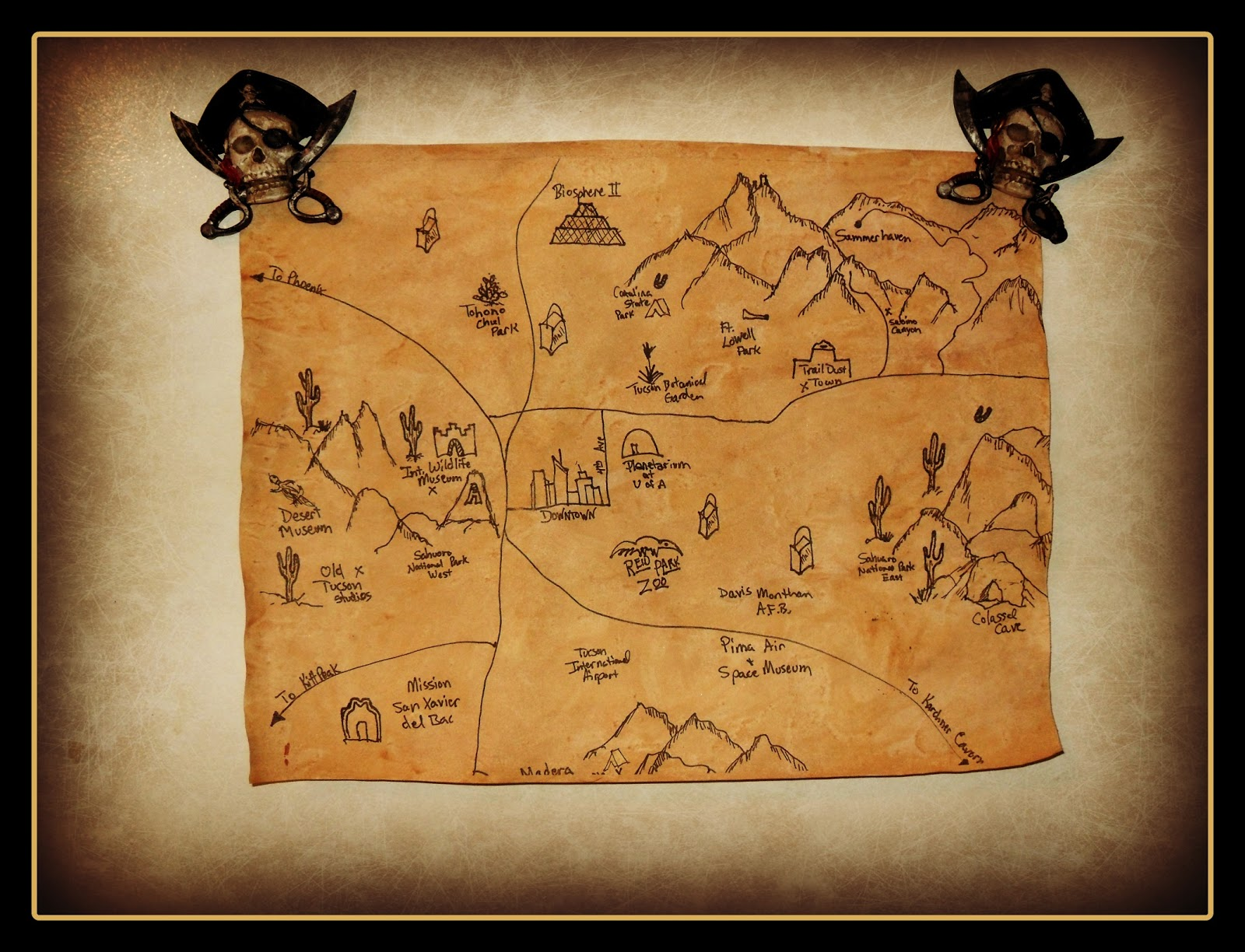 Treasure Map Template Cake Ideas And Designs