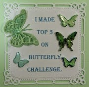 Top 5 (2 extra for challenge No. 10!) on the Butterfly Challenge