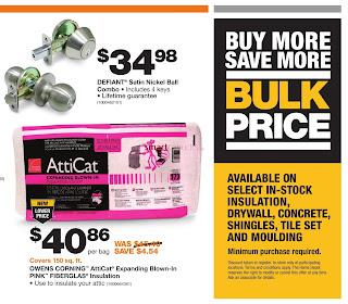 Home Depot Flyer Pro Savings Event October 10 - 30, 2017