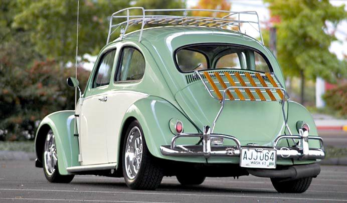 Volkswagen Escarabajo Vochos Vw 1963 Old School
