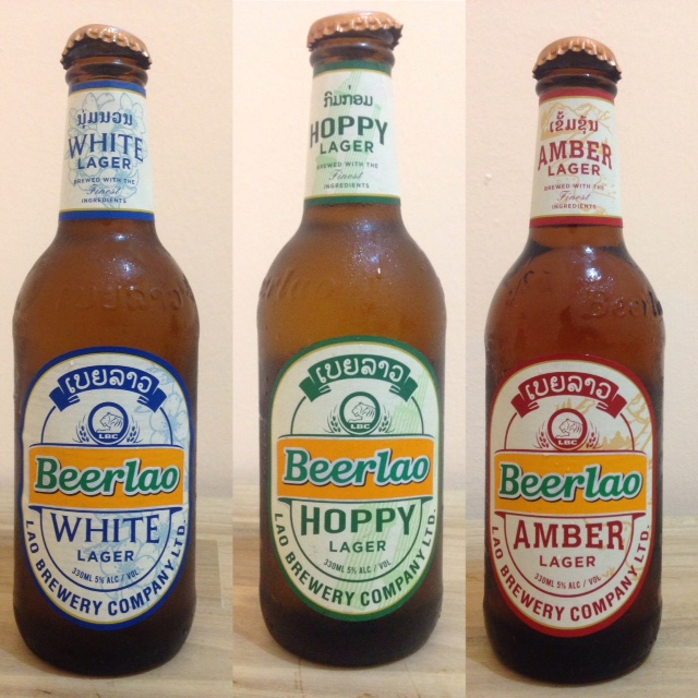 new flavors of Beer Lao