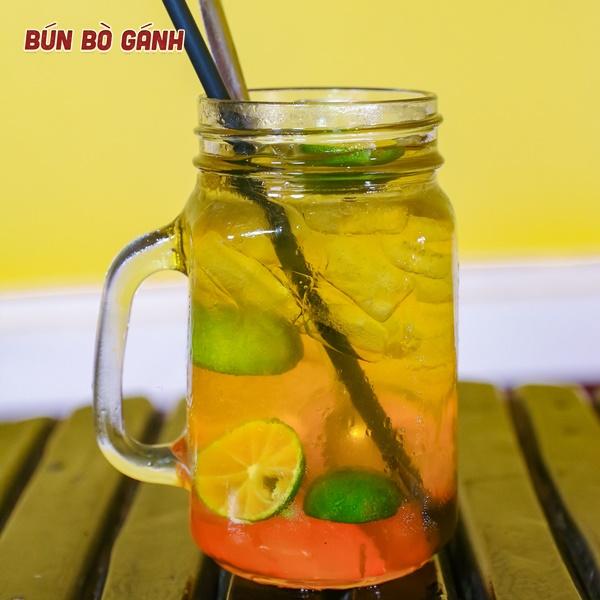 Trà Tắc Mật Ong Hoa Nhãn - Kumquat Honey Tea With Longan Flower