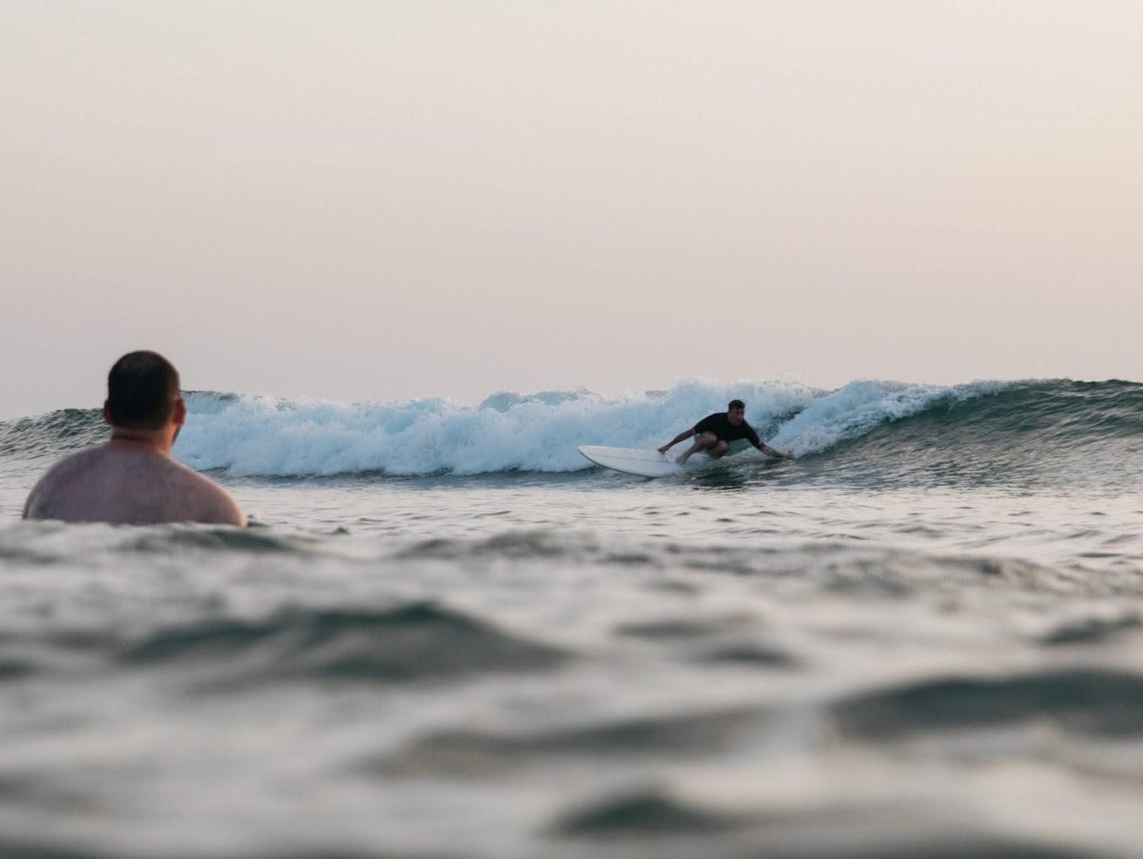 Vincent Lemanceau shaper and surfer in Hossegor -by Pierre David