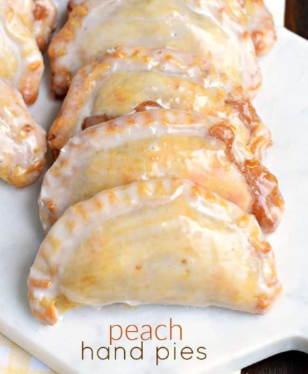 Peach Hand Pies #desserts #cakes #pie #recipes #snack