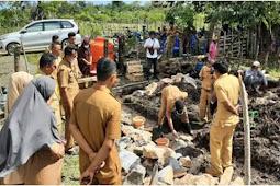 Kades Baliara Selatan, Wirman Hibahkan Tanah Untuk Lokasi Pembangunan TPS-3R di Bombana