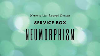Service Section with CSS Neumorphism Effects