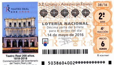 loteria nacional 14052016