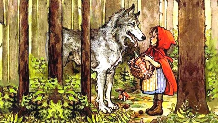 Breve storia di Cappuccetto rosso - fratelli Grimm