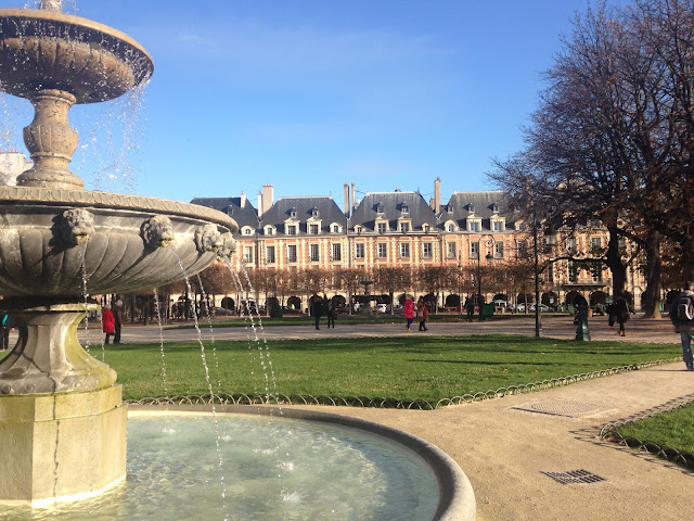 Place des Vosges garden 75004 IN SEARCH MY HOMEBLOG