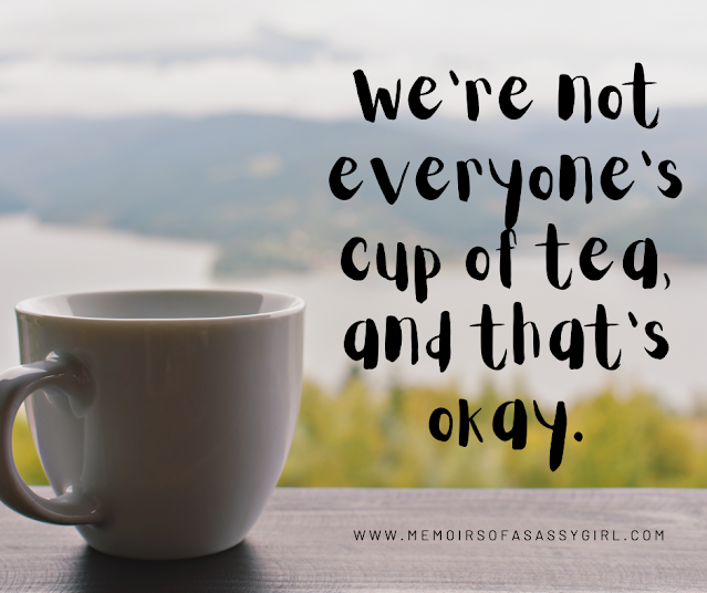 Cup of tea inspirational quote