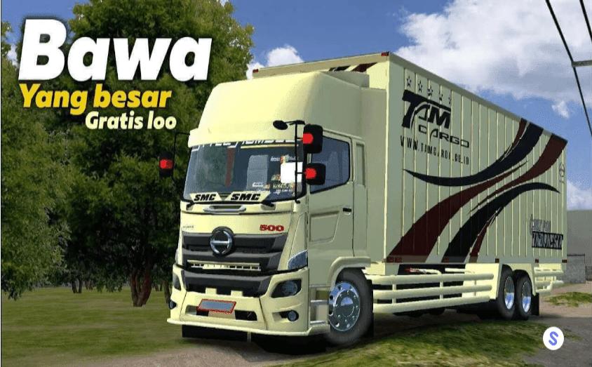 Mod Bussid Truck Tam Cargo