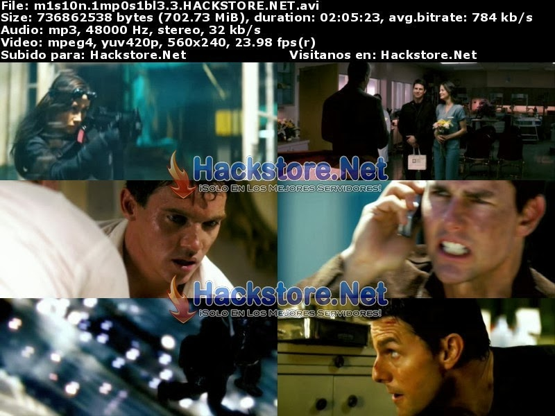 Captura Mision Imposible 3 (2006) DVDRip Latino