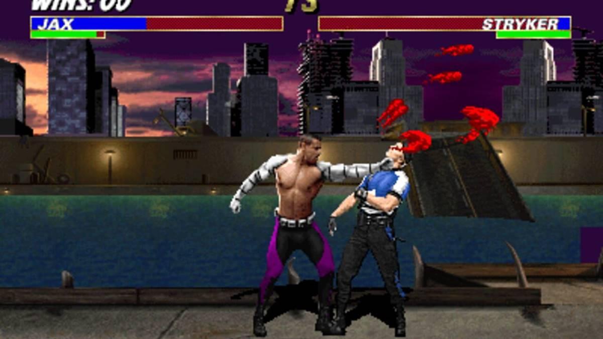 tampilan game Ultimate Mortal Kombat 3