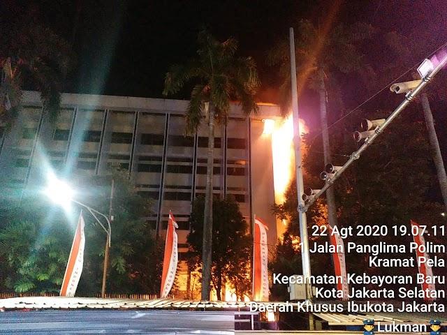 Gedung Kejagung Terbakar, Jaksa Agung Pastikan Berkas Perkara dan Para Tahanan Aman