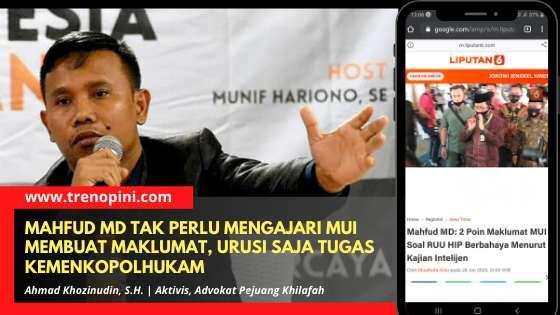 Ahmad Khozinudin, S.H. | Aktivis, Advokat Pejuang Khilafah