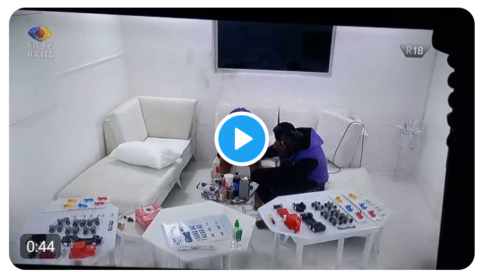 BBNaija: Watch the moment Big Brother gave Pere and Angel the chance to play in the grand finale