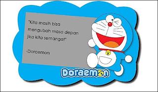 Doraemon adalah salah satu tokoh kartun populer tidak hanya di negara asalnya saja namun  75 Kata Mutiara Doraemon yang Lucu Romantis dan Bikin Baper