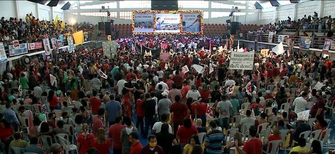 Políticos de vários partidos fazem aglomerações em convenções no Maranhão