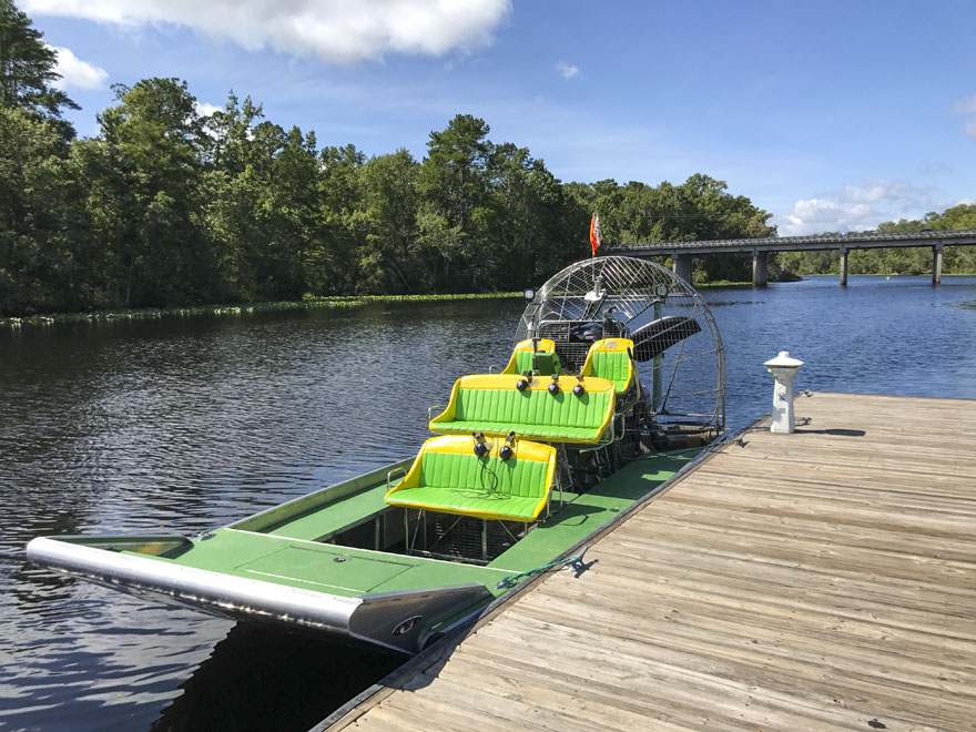 The Sea Serpent Air Boat