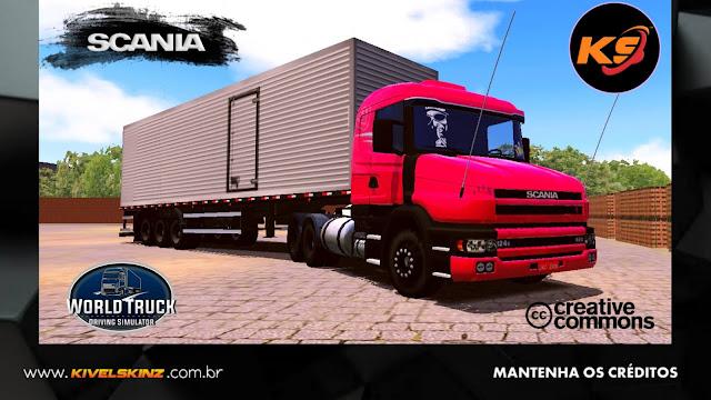 SCANIA T124 - GRIFFIN VERMELHA