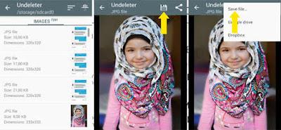 Mengembalikan File Data Foto, Video, Mp3 Yang Terhapus
